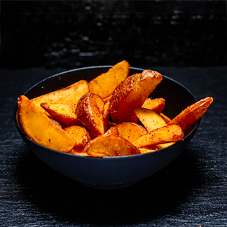 Картофельные дольки, стандартная порция.